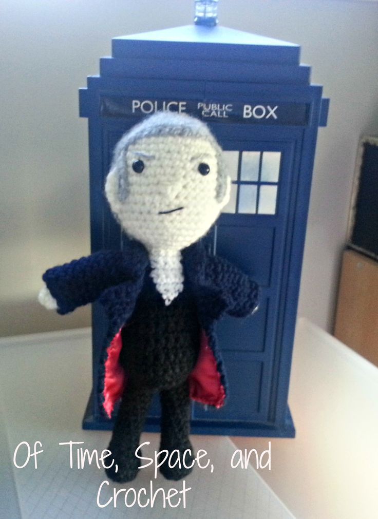 12th Doctor from Doctor Who as portrayed by Peter Capaldi :)