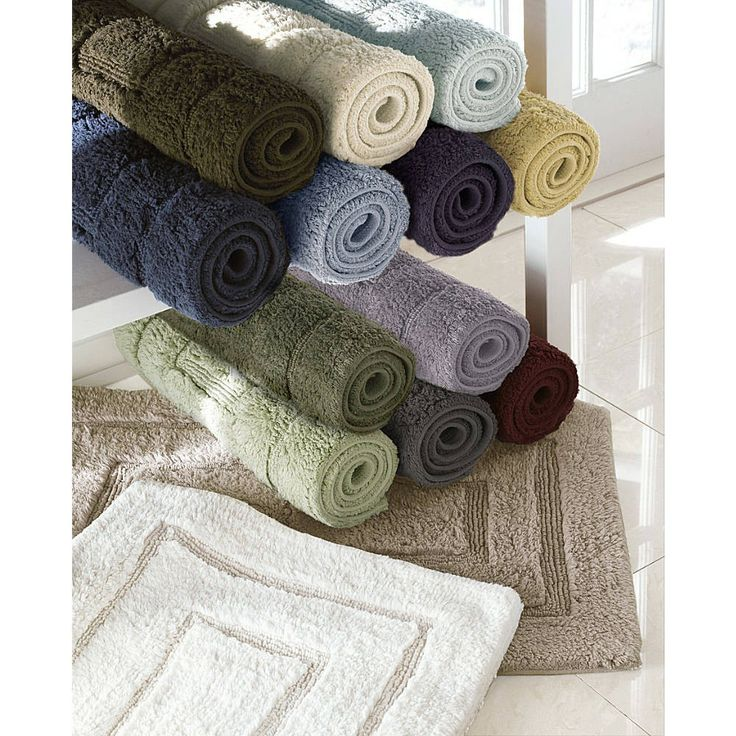 Kassatex® Kassadesign Medium Bath Rugs are made in India of Egyptian Cotton. Transform your bath. Discover the look and feel of Egyptian Cotton with the ...  sc 1 st  Pinterest & 47 best Towels u0026 Bath images on Pinterest | Wholesale linens ...