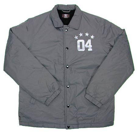 Fourstar Jacket Sherpa Coach Charcoal