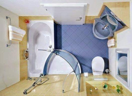 Idée d'organisation pour une petite salle de bain ∞