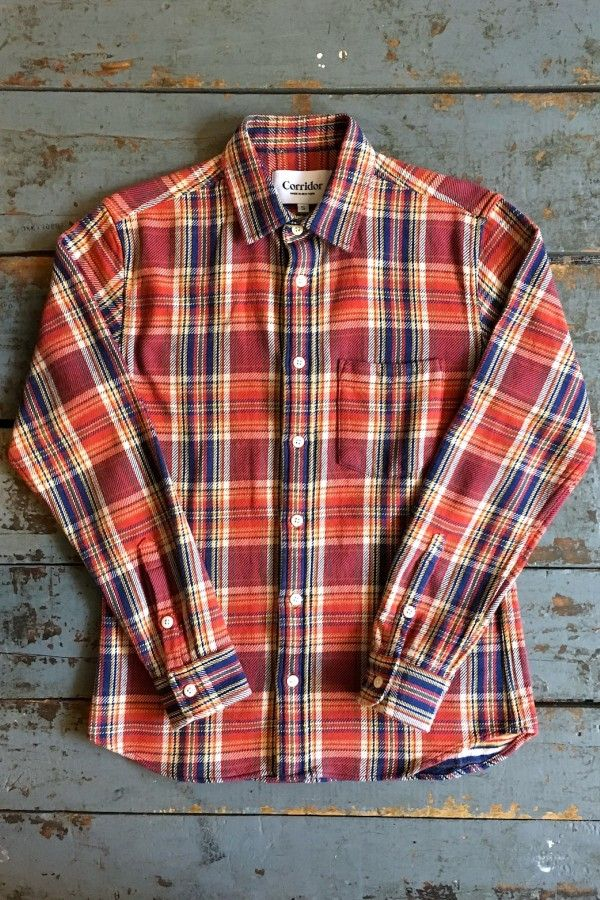 Corridor Flannel Shirt Blanket Plaid