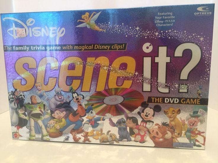 SEALED New Original 1st Edition Disney Scene It DVD Game Mickey Mouse Lion King | eBay