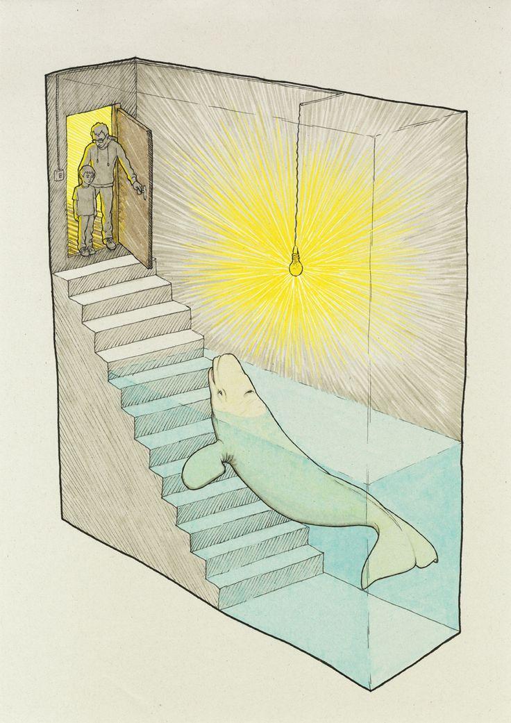 """""""Una beluga en el sótano"""""""