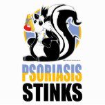 Psoriasis Stinks Poster | Zazzle