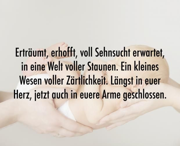 Schöne Sprüche zur Geburt | Eltern.de