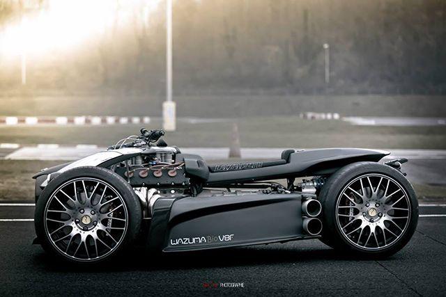 Wazuma V8F Matt Edition Lazareth Auto Moto