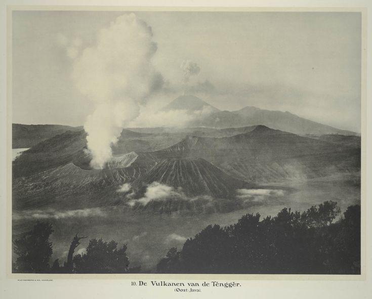 Jean Demmeni, De vulkanen van de Tengger, Oost-Java, 1913
