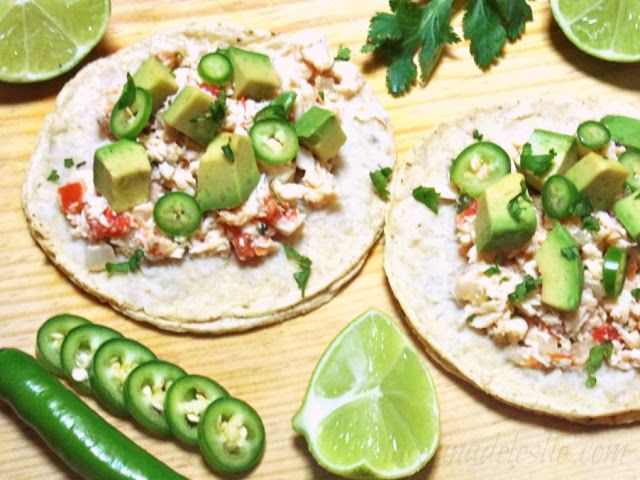 how to make authentic mexican shredded chicken tacos