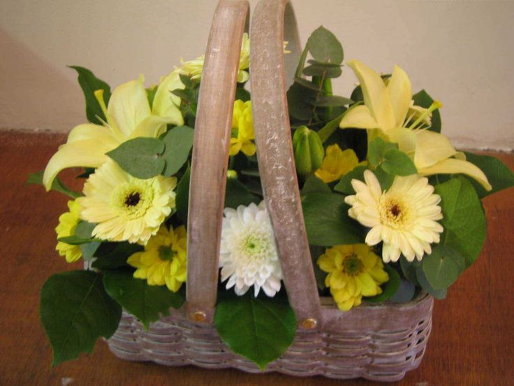 This bouquet of flowers was arranged by Cottonuds Florists in Northampton