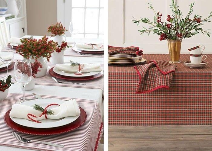 Tisch Dekorieren tisch dekorieren rote streifen dekoration decoration ideas