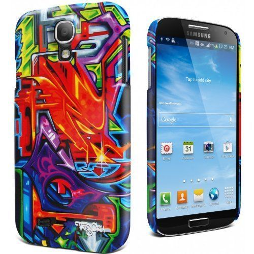 Galaxy S4 Cygnett Tats Cru Bio Graffiti Quiet Storm Soft-touch Case/Skin #Cygnett