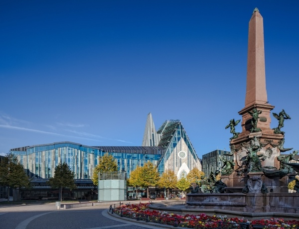 New Augusteum at University of Leipzig in Germany by Dutch Architect Erick van Egeraat