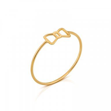 Silueta 18kt yellow gold TOUS Silueta ring,