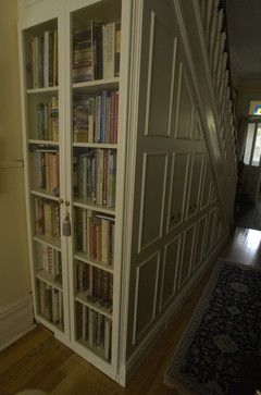 Under Stairs Closet Storage | Under-stair storage - traditional - closet - toronto - by Lipa ...