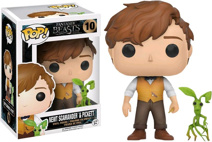 Newt & Pickett Pop! Vinyl Figure Fantastic Beasts Funko Popcultcha