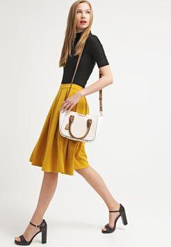Glamorous - Spódnica plisowana - acid yellow