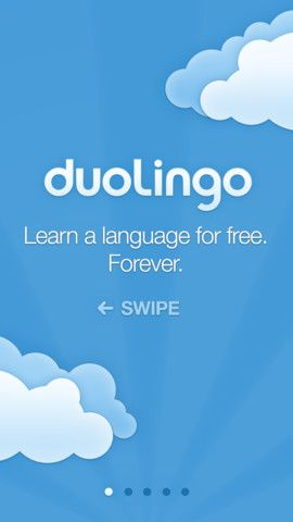 Duolingo is a free service that can help you learn Spanish, French, German, Italian, English, and Portuguese. Recently, Duolingo released a free iPad app to complement the free Android and iPhone apps that they offer. The apps and the website provide a variety of translation activities to help learn to you read, listen to, and translate words and phrases. To learn a new language on Duolingo you read, listen to, and translate words and phrases.