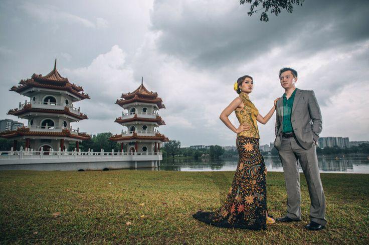 Batik and congsham singapore prewedding at ferry tjoe
