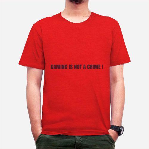 Gaming Is Not A Crime Dari Tees.Co.Id oleh Enjoy Sob