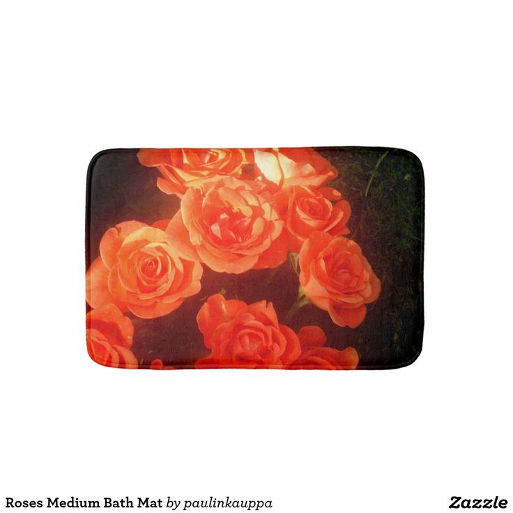 Roses Medium Bath Mat