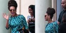 Beyoncé Knowles e Jay-Z hanno deciso di festeggiare il loro quinto anniversario di matrimonio con una vananza a Cuba. Abito MILLY by Michelle Smith