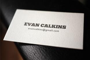 Gorgeous letterpress cards