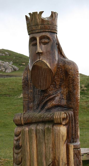 Uig, Isle of Lewis, site of the discovery of the Lewis Chessmen