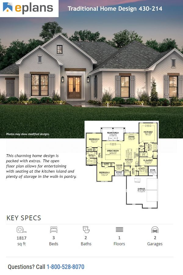 Pin By Anneblue On Modern House Design In 2020 Craftsman House Plans House Blueprints Beach House Plans