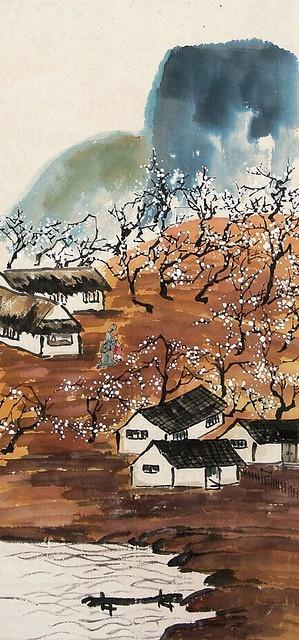齐白石-游山图 by China Online Museum - Chinese Art Galleries, via Flickr