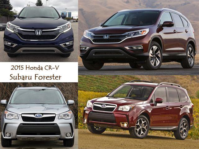 Best SUV Lease Deals in May - 2015 Honda CRV vs Subaru Forester