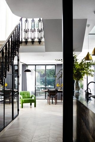 At Home: A Glamorous London Townhouse