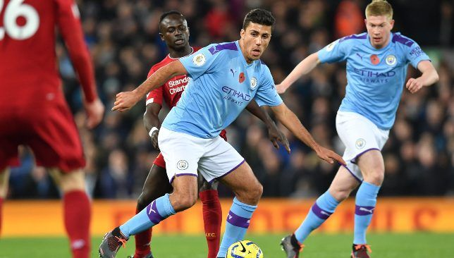 Man City Midfielder Rodri Insists Title Race Is Absolutely Not Over Despite Liverpool Setback Liverpool Midfielder Liverpool Players