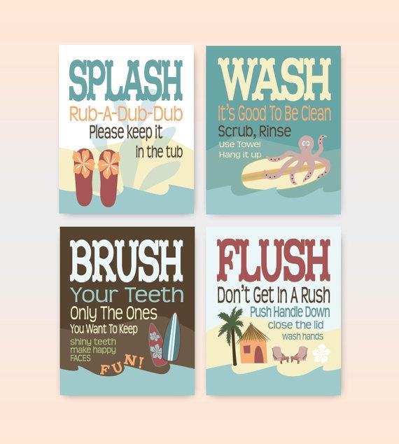 9 best Boys bathroom images on Pinterest | Kid bathrooms, Fish ...