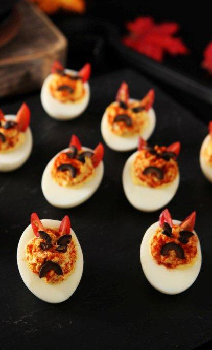 halloween recipes eggs