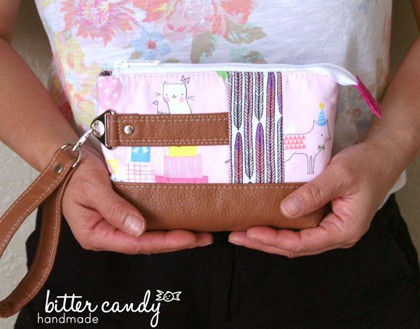 Classic Clutch - Andrie Designs bag patterns  Paper and PDF bag patterns