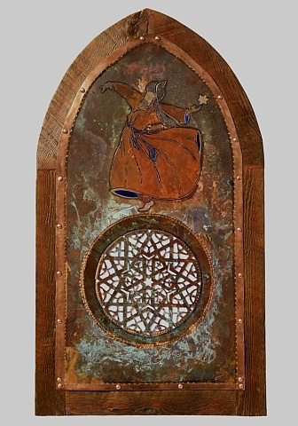 window  sufi dancer