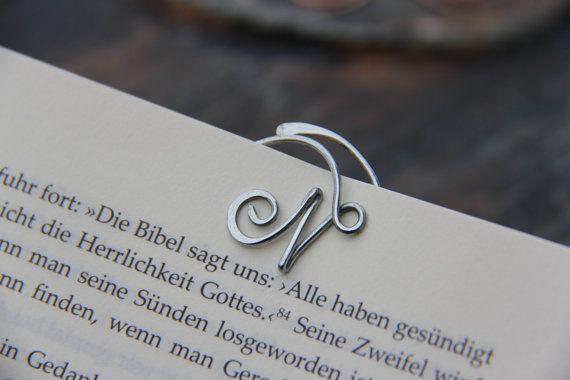 Personalizzato lettera corsiva rame ottone o di Keepandcherish