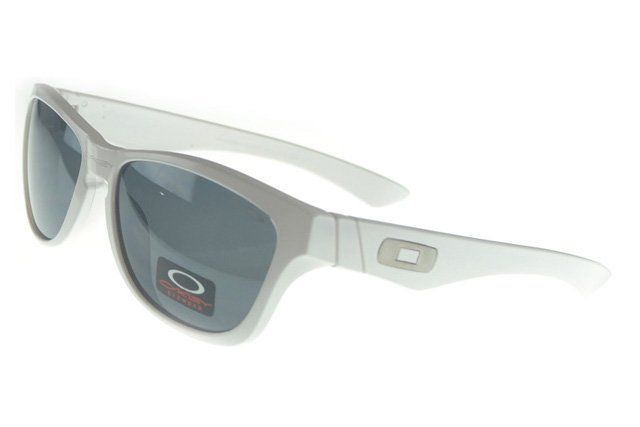 Large Discount Oakley Frogskin Sunglasses white Frame grey Lens 1681#Oakley Sunglasses