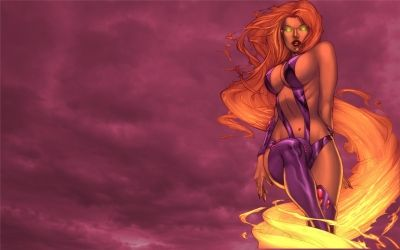 1000 images about starfire on pinterest nightwing star