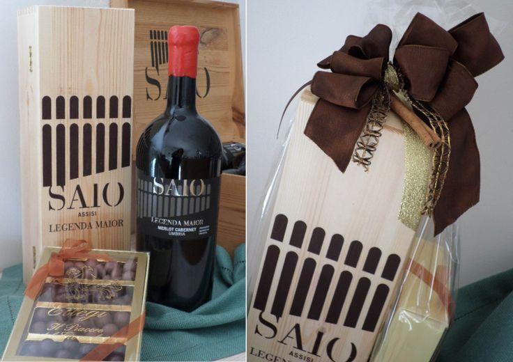 Legenda Maior and handmade praline special gift