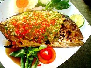 Ikan Kakap Merah Bakar Rica - ResepMasakanOnline.com