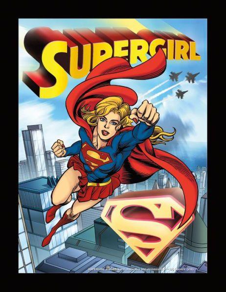 DC Comics 3D Art: Supergirl Sonic Boom Matte