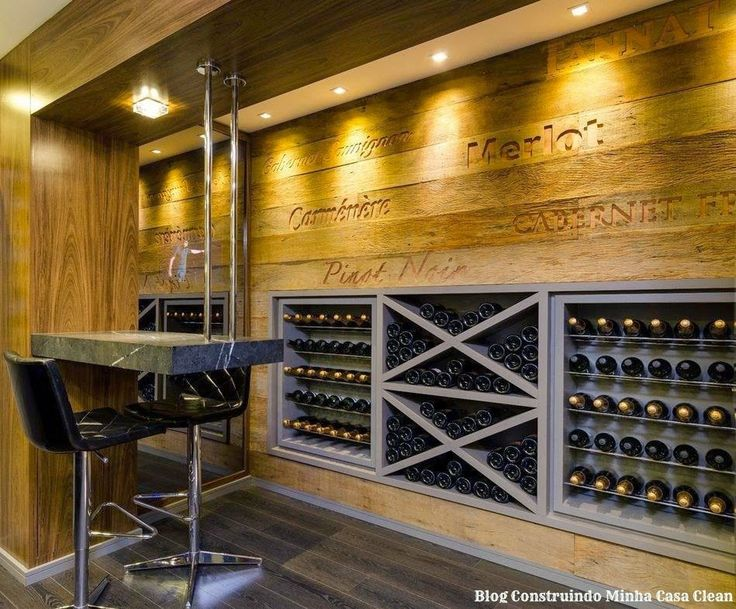 1000 ideias sobre garrafeira de cave no pinterest for Bar para casa rustico