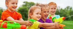 17 waterspelletjes voor kinderen bij warm weer