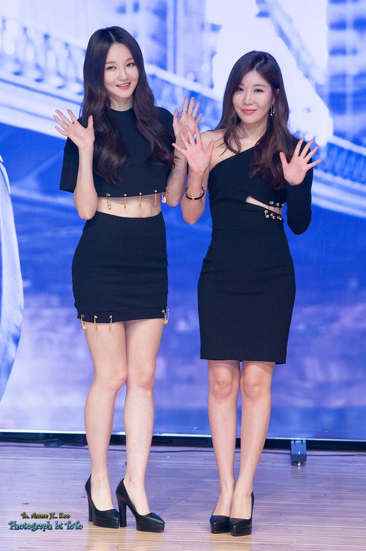 Davichi MinKyung and HaeRi