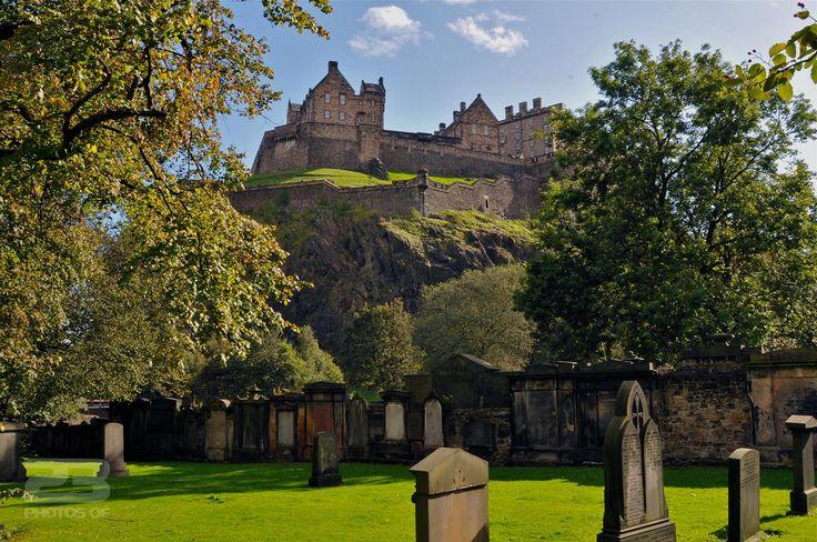 Edinburgh Castle From Princes Street Gardens photo | 23 Photos Of Edinburgh
