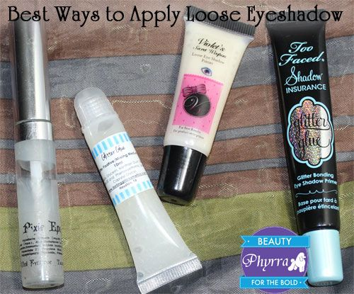 """Best Ways to Apply Loose Eyeshadow"" by Phyrra. This is an awesome and extremely helpful post!"