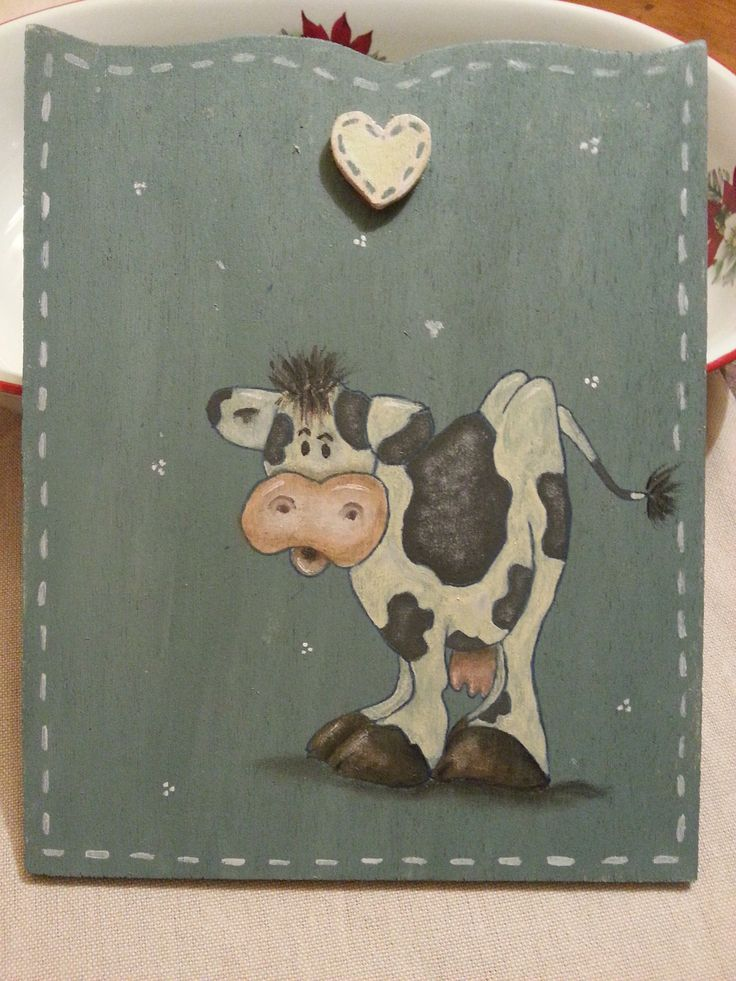 Mucca country painting