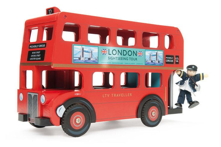 Buy Le Toy Van - London Bus with Driver