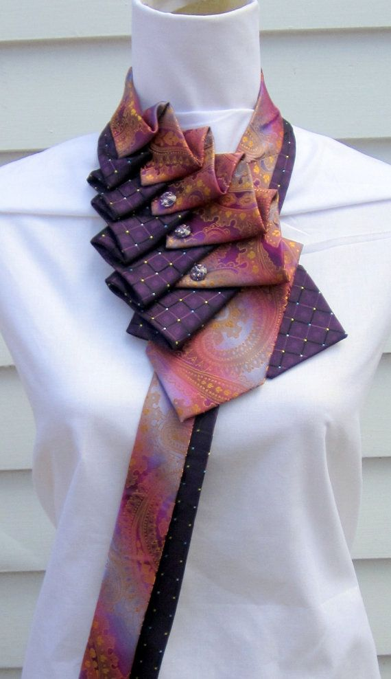 Fall Must Have Accessory! Ruffle Tie Fall by TiedToPerfectionNH on Etsy, $98.00